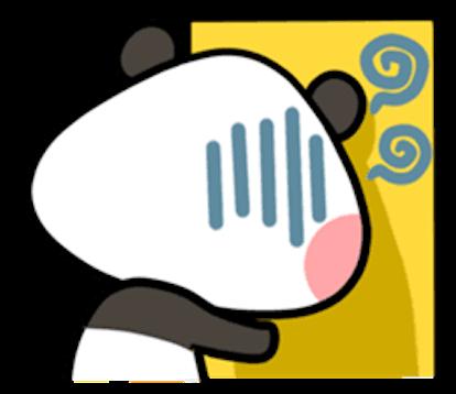 Baby Panda Emoji messages sticker-9