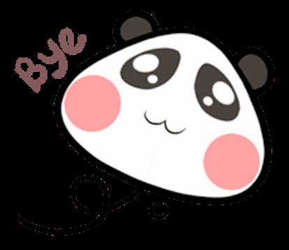 Baby Panda Emoji messages sticker-0