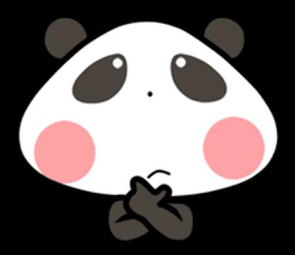 Baby Panda Emoji messages sticker-2