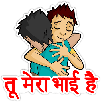 Desi Talkative messages sticker-9