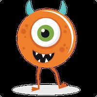 MonsterMoji - Best Emoji and Stickers messages sticker-8