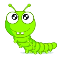 Worm Cute Stickers messages sticker-11