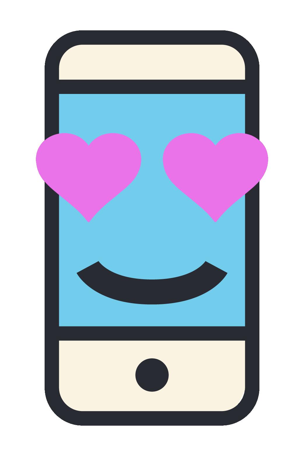 Phone Emoji Stickers messages sticker-2