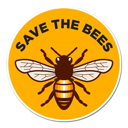 Save The Bees Sticker Pack messages sticker-0