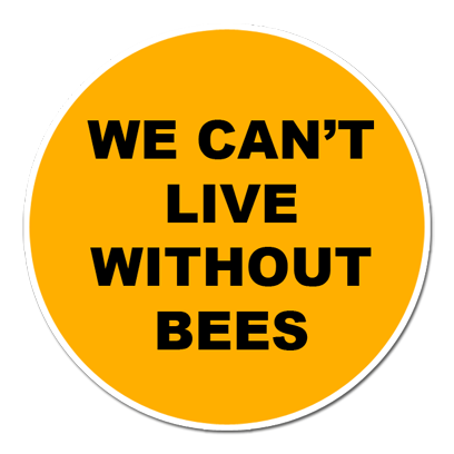 Save The Bees Sticker Pack messages sticker-6