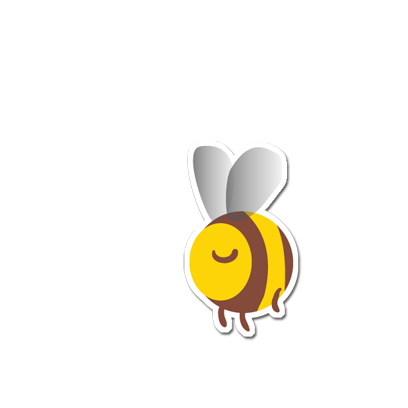 Save The Bees Sticker Pack messages sticker-4