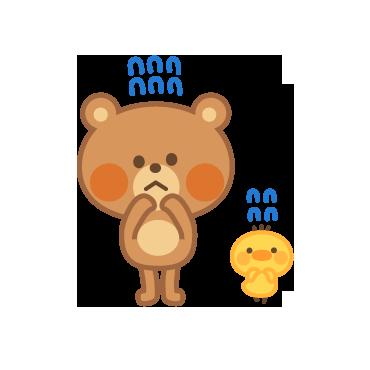 4 Bears messages sticker-2