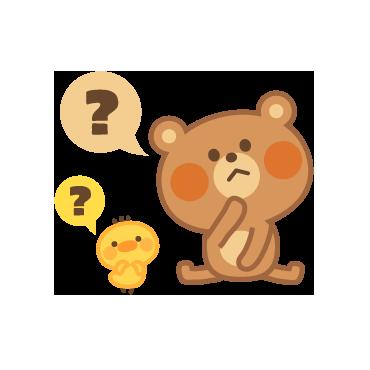 4 Bears messages sticker-5