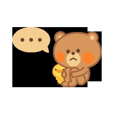 4 Bears messages sticker-11