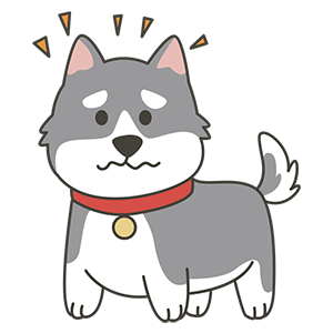 HuskyMoji - Siberian Husky Emoji messages sticker-4