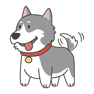 HuskyMoji - Siberian Husky Emoji messages sticker-3