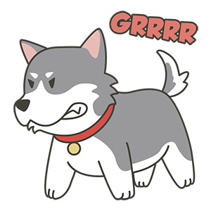 HuskyMoji - Siberian Husky Emoji messages sticker-1