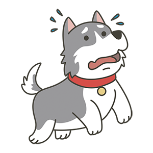 HuskyMoji - Siberian Husky Emoji messages sticker-6