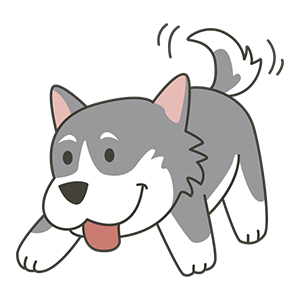 HuskyMoji - Siberian Husky Emoji messages sticker-9