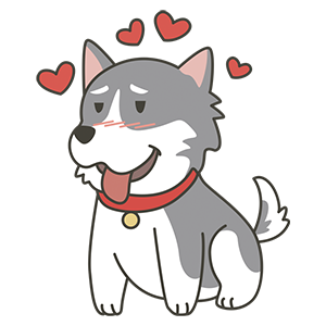 HuskyMoji - Siberian Husky Emoji messages sticker-11