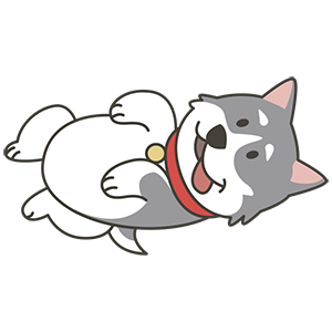 HuskyMoji - Siberian Husky Emoji messages sticker-2