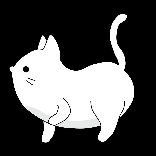 Yuki Neko - Animated Kitty Cat Fun Pet Stickers messages sticker-8