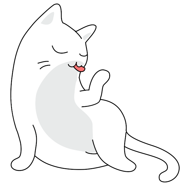 Yuki Neko - Animated Kitty Cat Fun Pet Stickers messages sticker-5