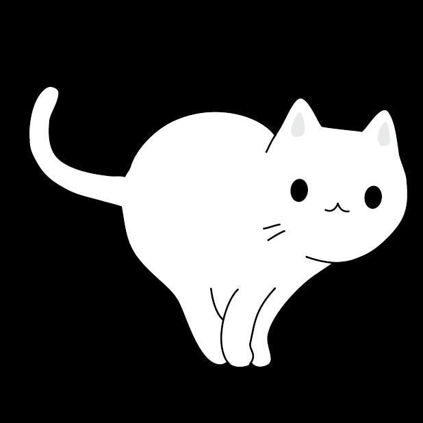 Yuki Neko - Animated Kitty Cat Fun Pet Stickers messages sticker-7