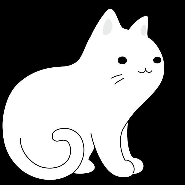 Yuki Neko - Animated Kitty Cat Fun Pet Stickers messages sticker-11