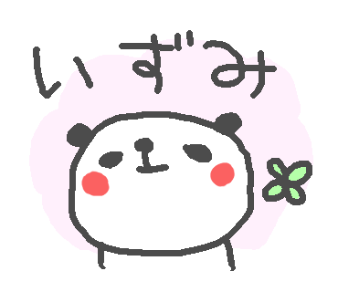 Izumi Panda Stickers! messages sticker-0