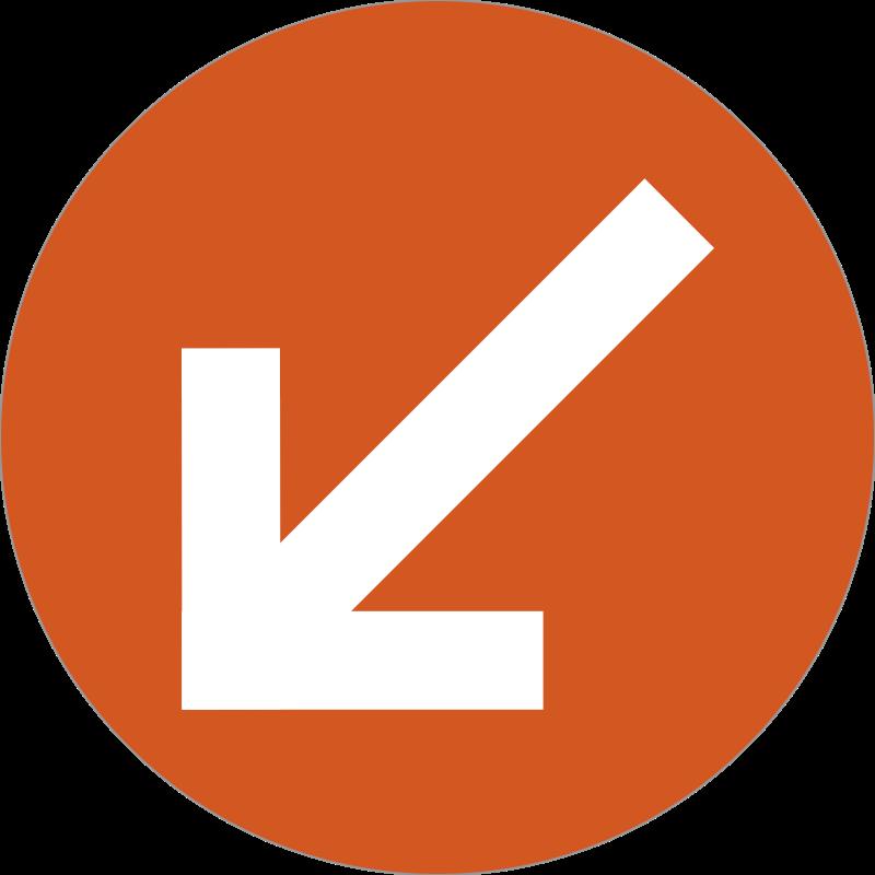 arrow badge messages sticker-10