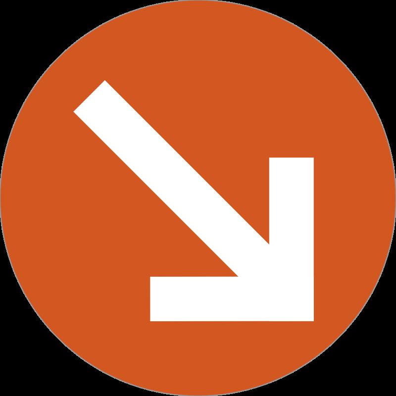 arrow badge messages sticker-6