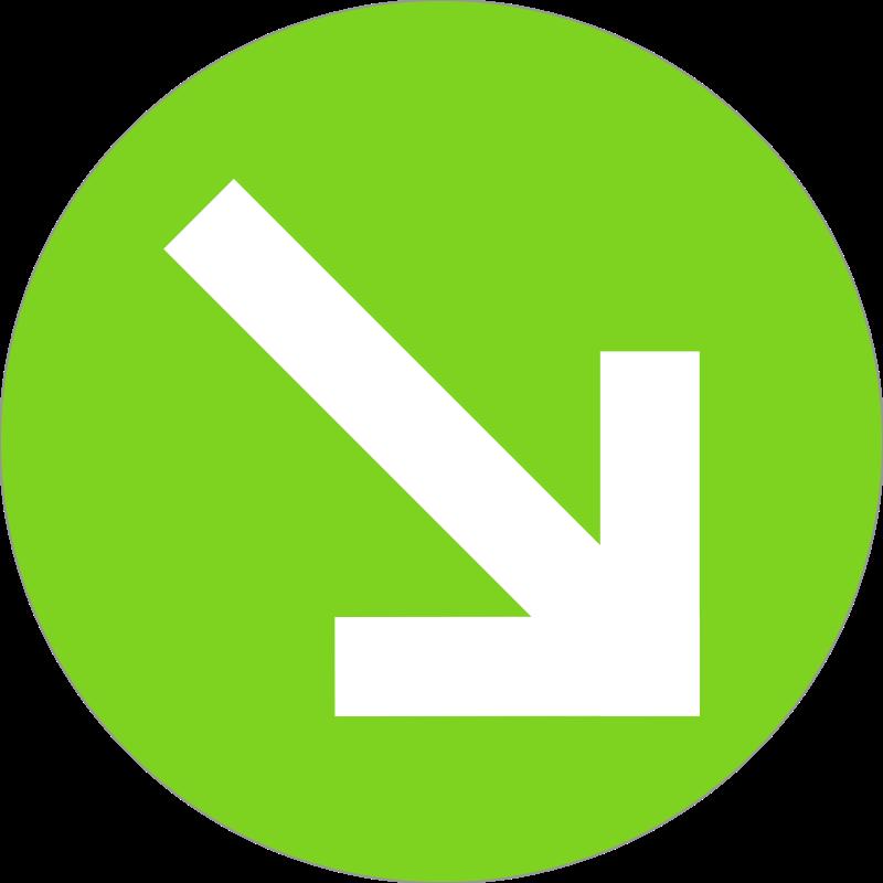 arrow badge messages sticker-8