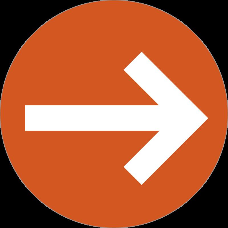 arrow badge messages sticker-5