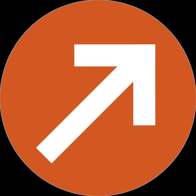arrow badge messages sticker-7
