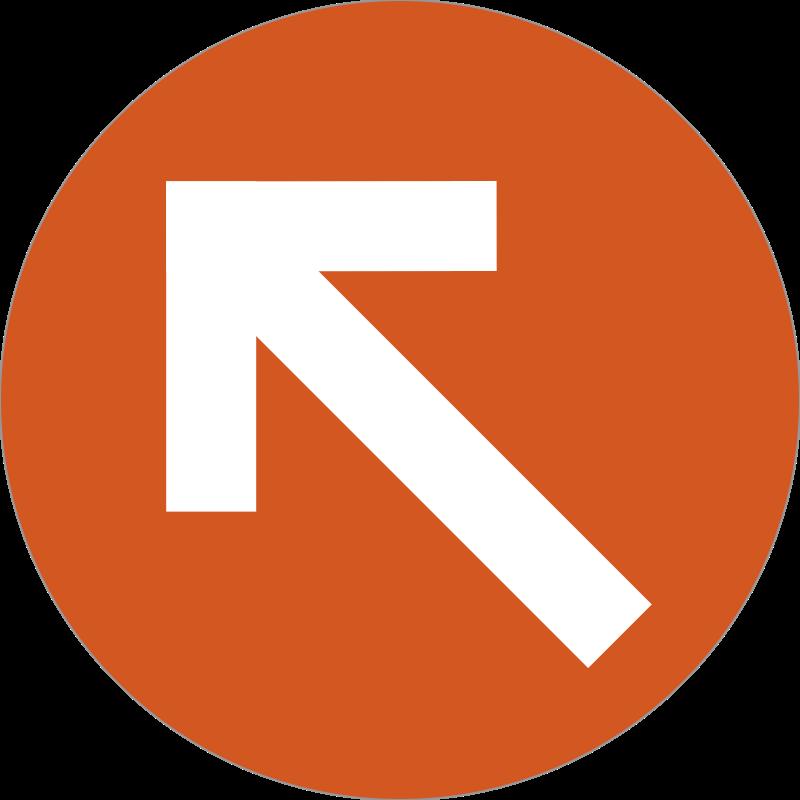 arrow badge messages sticker-11
