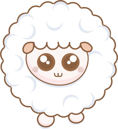 Cloudy Sheep Stickers messages sticker-4
