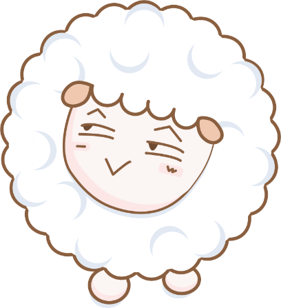 Cloudy Sheep Stickers messages sticker-9