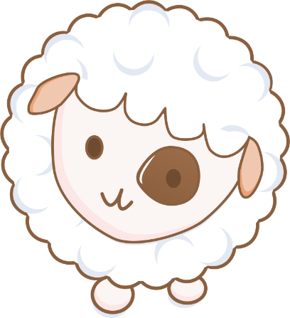 Cloudy Sheep Stickers messages sticker-5
