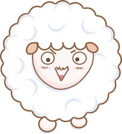 Cloudy Sheep Stickers messages sticker-7