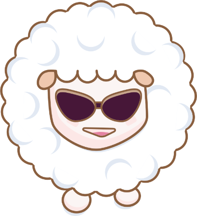 Cloudy Sheep Stickers messages sticker-2