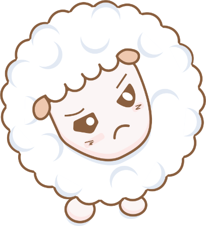Cloudy Sheep Stickers messages sticker-8
