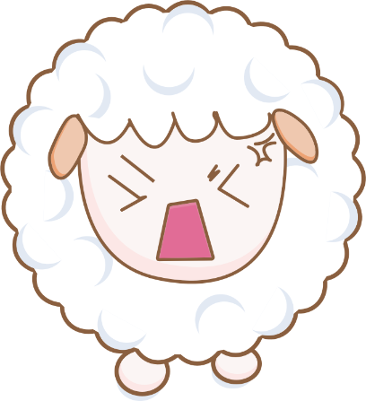Cloudy Sheep Stickers messages sticker-10