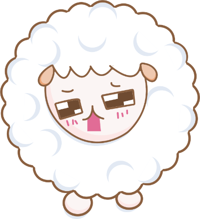 Cloudy Sheep Stickers messages sticker-6