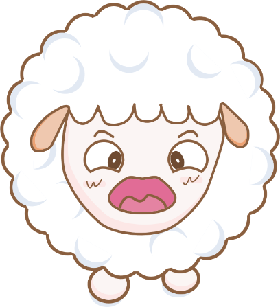 Cloudy Sheep Stickers messages sticker-0