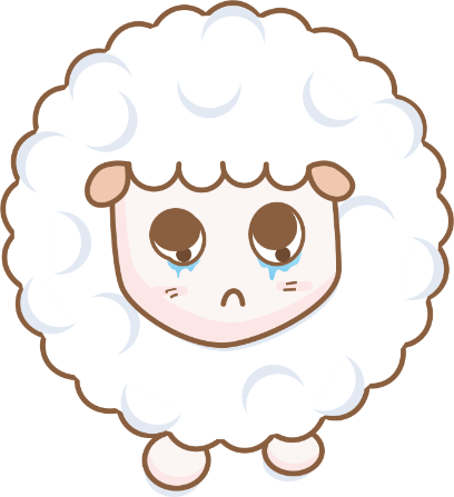 Cloudy Sheep Stickers messages sticker-11