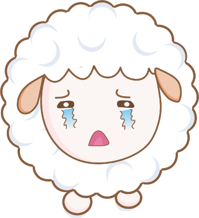 Cloudy Sheep Stickers messages sticker-3