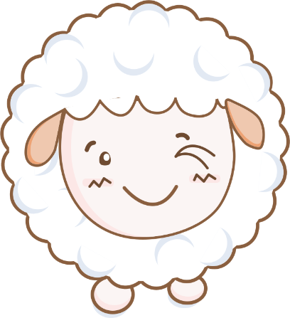 Cloudy Sheep Stickers messages sticker-1