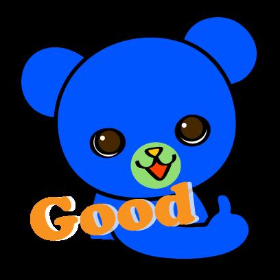 Pretty Little Bears Sticker Pack-FREE messages sticker-0