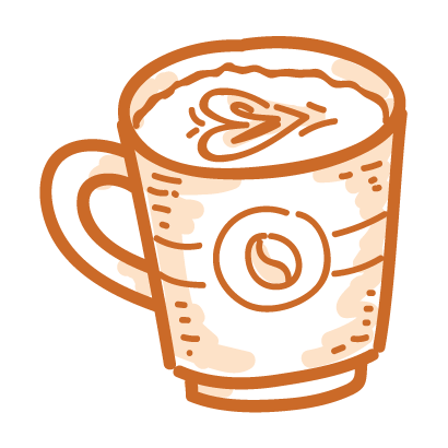 Coffee time! iMessage stickers messages sticker-10