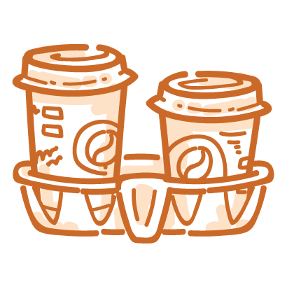 Coffee time! iMessage stickers messages sticker-3