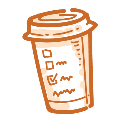 Coffee time! iMessage stickers messages sticker-1