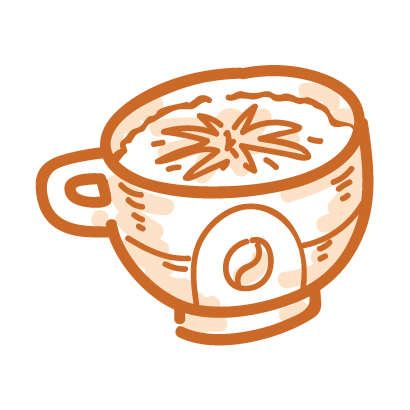 Coffee time! iMessage stickers messages sticker-11