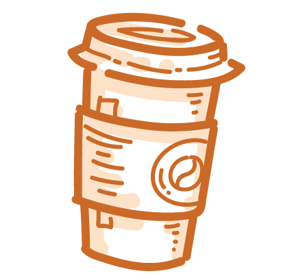 Coffee time! iMessage stickers messages sticker-2