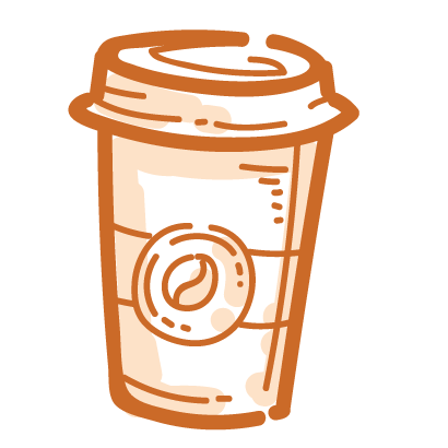 Coffee time! iMessage stickers messages sticker-0